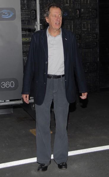 Geoffrey Rush attending the Xbox 360